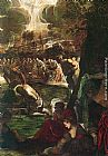 Jacopo Robusti Tintoretto - Baptism of Christ [detail 1]